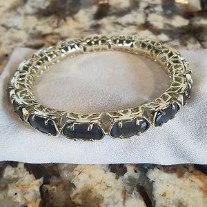 Kendra Scott Harper Bracelet Gold Slate Cat's Eye
